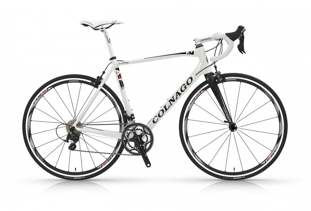 Colnago A1-r This aluminum frame takes on a new form to reach a higher performance level