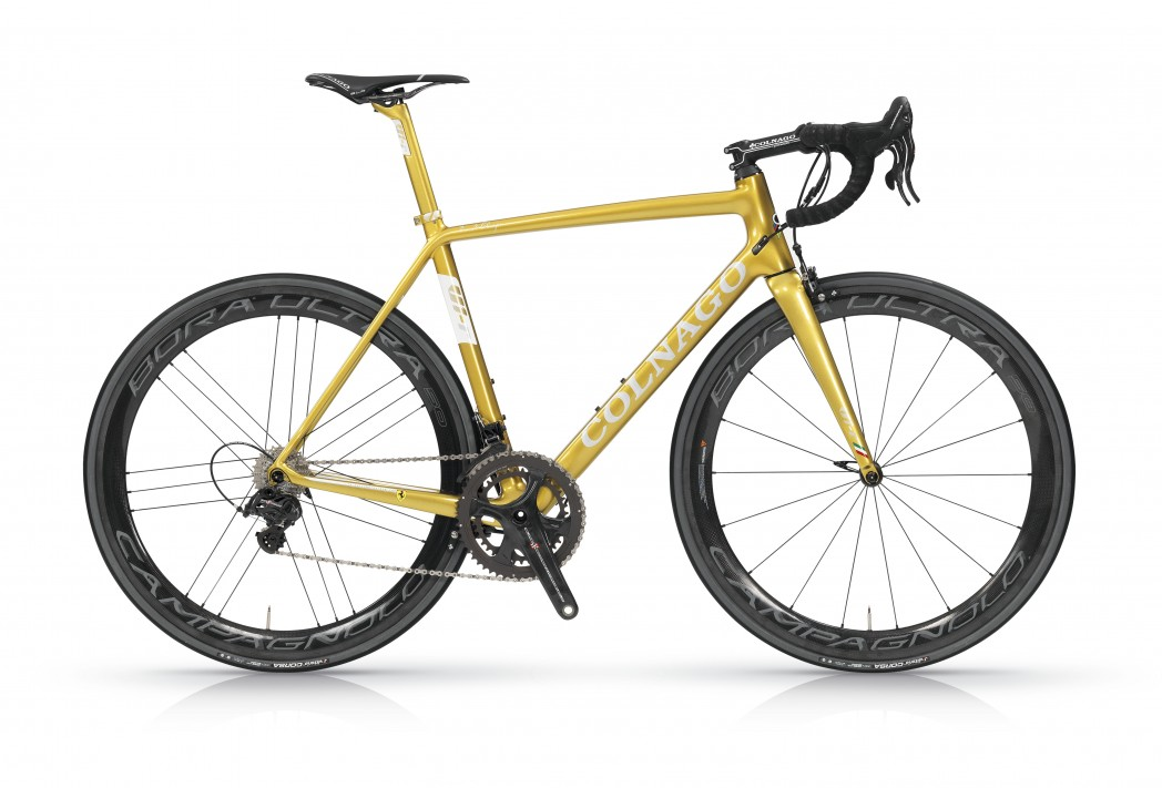 Colnago V1-r the best Colnago monocoque frame produced in collaboration with Ferrari
